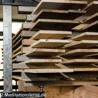 Das Holz für die Monochorde