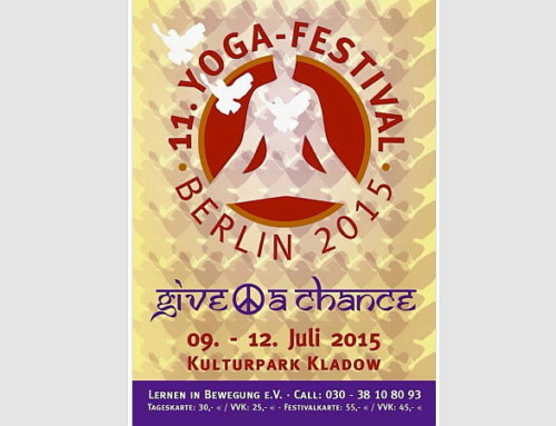 11. Yoga-Festival 09.-12. Juli 2015 in Berlin