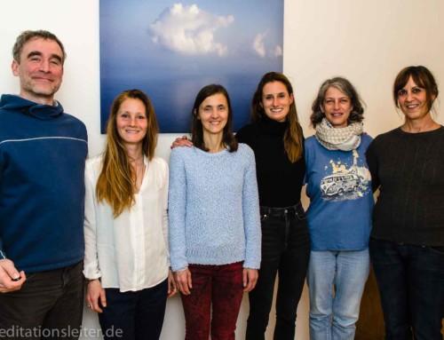 2019 ~ Fünf neue Meditationsleiterinnen in Berlin
