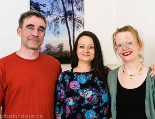 Zwei neue Meditationsleiterinnen 2019 in Berlin