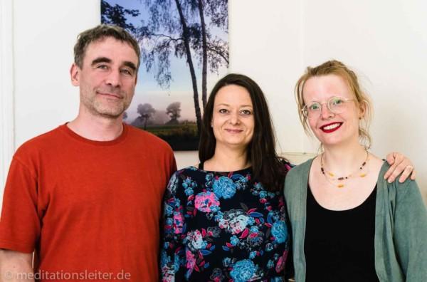 Meditationsleiter Ausbildung in Berlin - von li nach re: Jamila Kopietz und Stefanie Finke