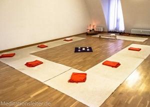 Zentrum für heilende Bewegung ~ Meditationsraum von Meditationsleiter