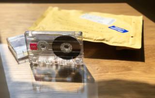 Audiokassette im Fernstudium