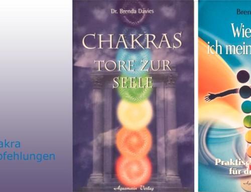 Chakra-Bücherempfehlung Chakras – Tore zur Seele & Wie stärke ich meine Chakras