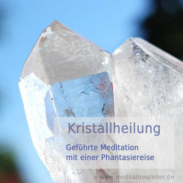 Cover Meditation Kristallheilung