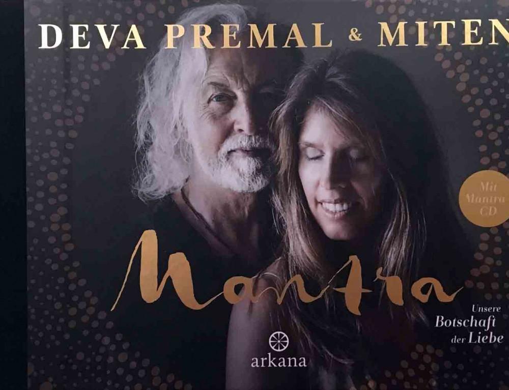 Deal Premat & Miten ~ Mantra – Unsere Botschaft der Liebe  ~ Buch mit CD