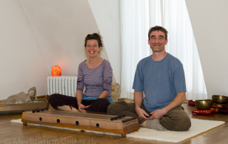Ines und Rene ~ Meditationen in Berlin