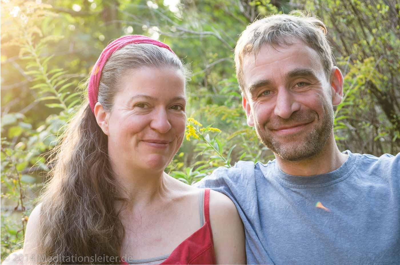 Ines Nonnenmacher und René Lecoutre