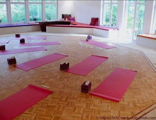 Yoga in Berlin Schmöckwitz ~ in der Licht-Werk-Statt