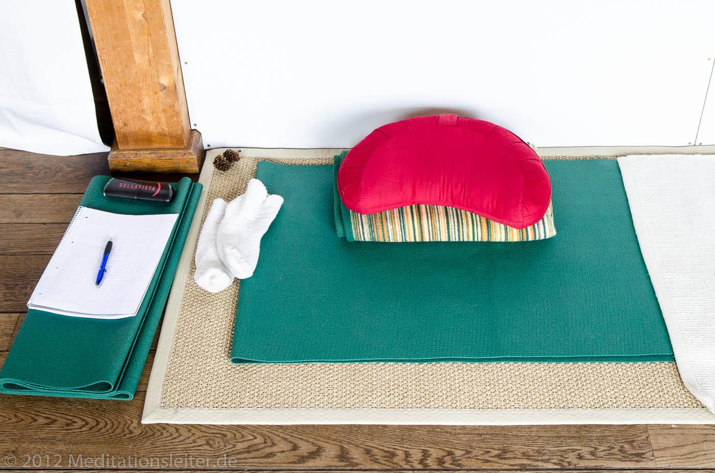 Meditation Sitz Zempow