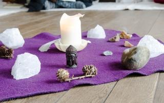 Unsere Meditationsmitte Zempow