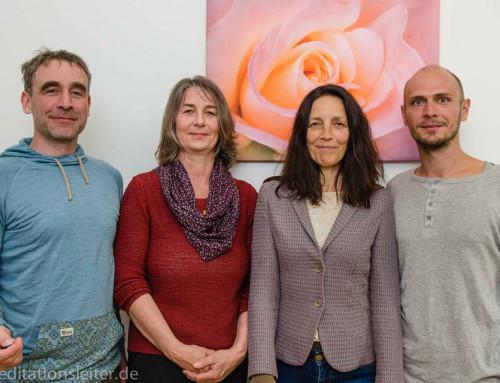 2018 ~ Drei neue MeditationsleiterInnen in Berlin