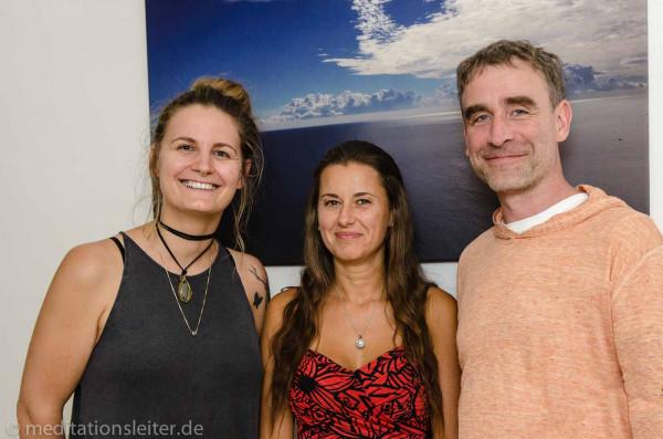 Meditationsleiter Ausbildung in Berlin - von li nach re: Annika Zimmermann und Barbare Awtuszka
