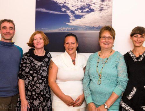 2015 ~ Vier neue Meditationsleiterinnen in Berlin