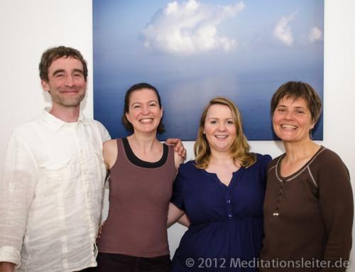 Drei neue Meditationsleiterinnen 2012 in Berlin