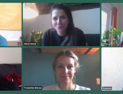 Fünf neue Meditationsleiterinnen 2020 in Berlin