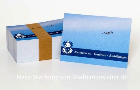 Meditationsleiter Werbung 2014 Vorderseite ~ inesn.de