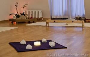Meditationsraum im Zentrum für heilende Bewegung Berlin