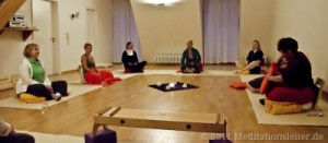 Meditationsgruppe in Berlin