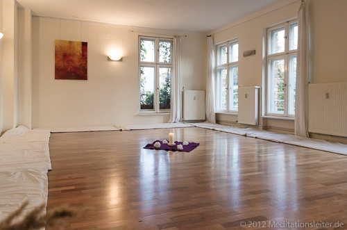 Meditationsraum für die Meditationen mit dem Sonnen-Monochord