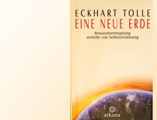 """Buchempfehlung: """"Eine neue Erde"""" von Eckhart Tolle"""