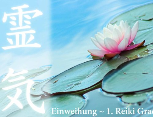 Reiki~Weihe in den 1. Reiki Grad am 7. & 8. Juli in Berlin