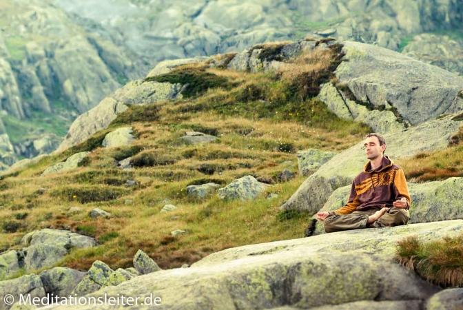 Meditation auf dem Gotthardpass