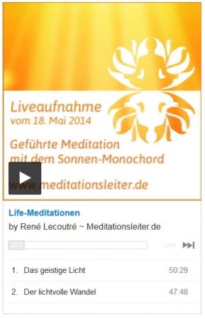 Meditationen mit dem Sonnenmonochord - Lifemitschnitt