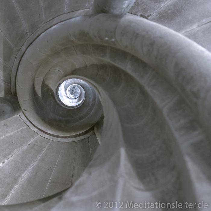 Spirale ~ Treppenhaus im Rathaus von Rothenburg ob der Tauber