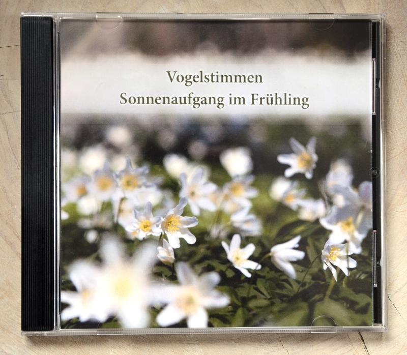 Vogelstimmen CD Frontcover