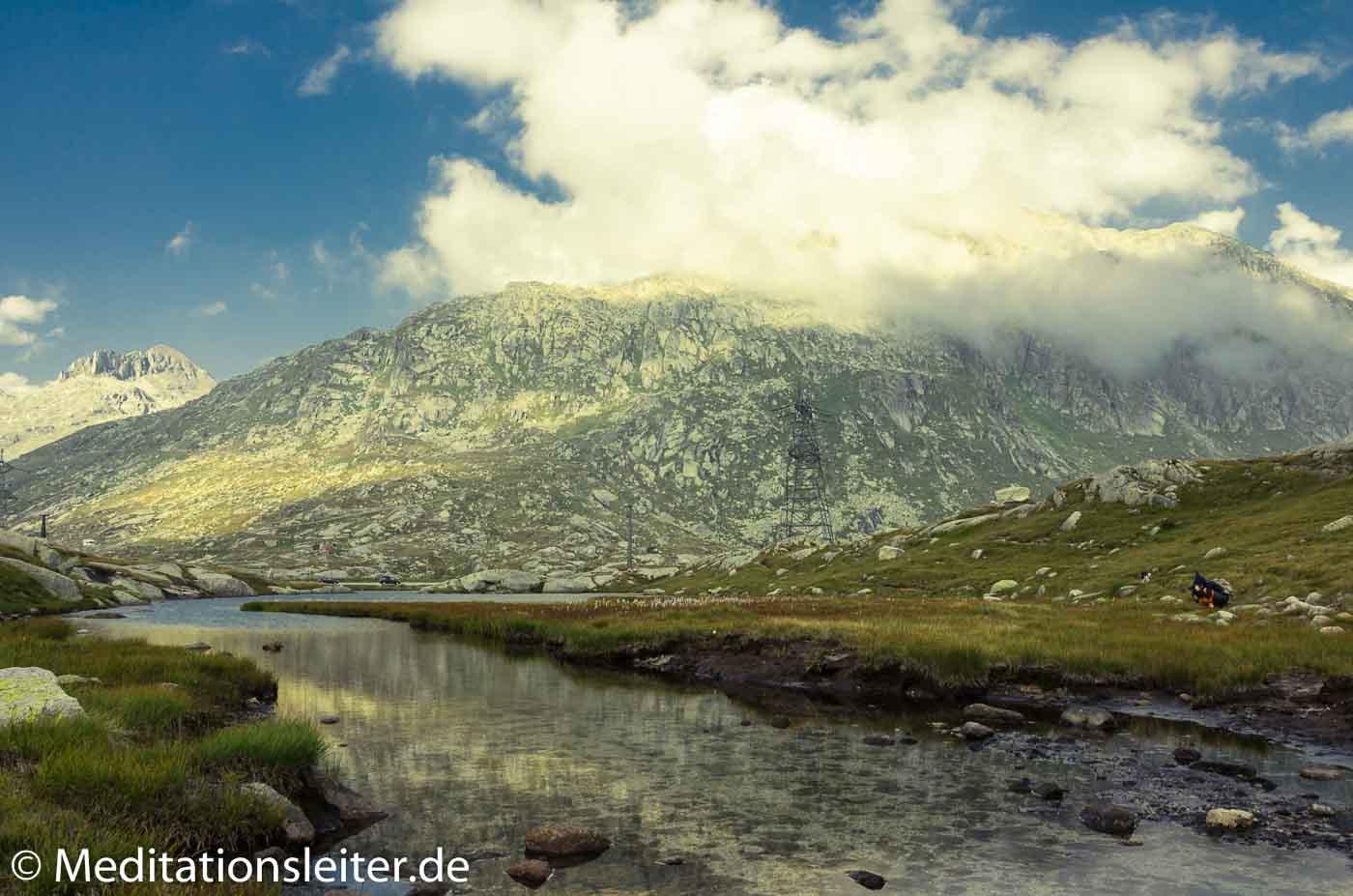 Wasser Gotthardpass