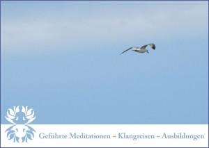 Werbung Meditationsleiter 2013 ~ Vorderseite